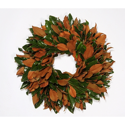 Classic Parris Southern Magnolia Wreath