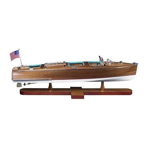 Triple Cockpit Model Boat