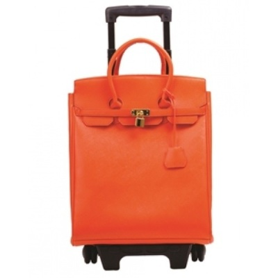 Geneva Turnlock Roller Bag- Greyson Place