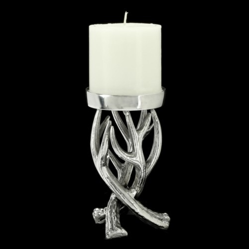 Antler Pillar Candle Holder