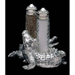 Alligator Salt & Pepper Shakers