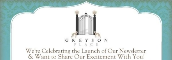 Greyson Place Newsletter Head