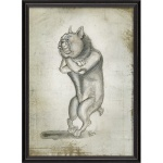 Greyson Place- Framed Bulldog Print