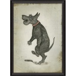 Greyson Place- Framed Scottie Print