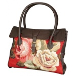 Greyson Place Diagonal Flowers Market Tote