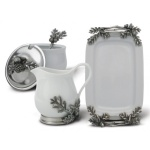 Greyson Place Acorn Oak Leaf Creamer Set