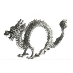 Greyson Place Pewter Dragon Napkin Ring
