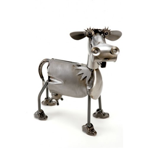 Greyson Place- Bessie the Cow Sculpture